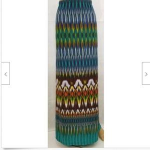 Cato Womens Maxi Skirt Plus 26W 28W 26/28 stretch